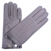 Nylon Men's Gloves With Snap Grey